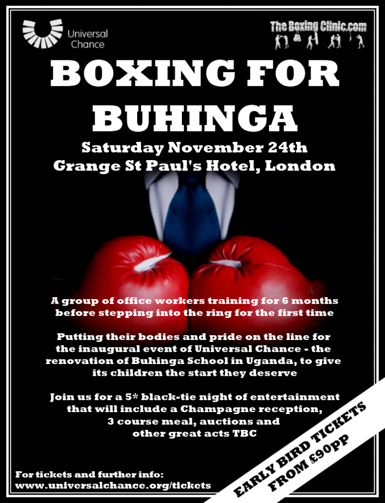 Boxing For Buhinga