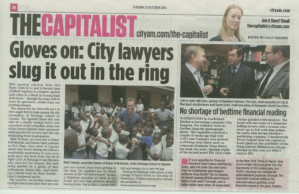 City AM article 2310