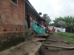 The teachers accommodation block