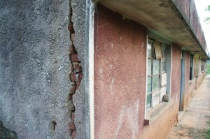 Structural damage of the teacher's block